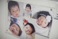 赤ちゃんの記念写真