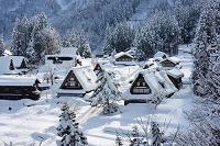 富山県 雪の五箇山