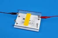 電熱線の発熱を調べる 示温テープ