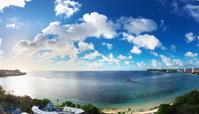 グアム タモンビーチの眺望