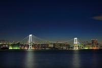 東京都 レインボーブリッジ 豊洲 ぐるり公園から
