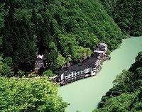 富山県 庄川と大牧温泉