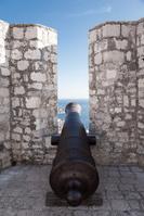 クロアチア フヴァル島 フヴァル城塞 大砲