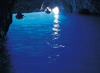 イタリア 青の洞窟  カプリ島
