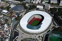 新国立競技場(午前撮影)