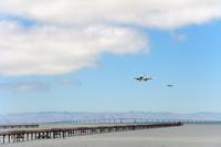 サンフランシスコ国際空港 着陸態勢