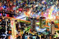 日本 東京都 東京スカイツリーより夜景