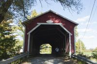 カナダ 屋根付き橋