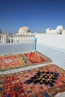 チュニジア ケロアン・旧市街の屋上