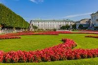 オーストリア ザルツブルク ミラベル庭園とミラベル宮殿