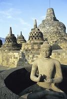 インドネシア ジャワ島 ボロブドゥール遺跡