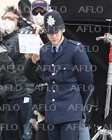映画「My Policeman」を撮影中のH・スタイルズ