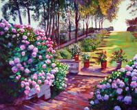 デイヴィッド・ロイド・グローバー 「STEPS TO THE ROSE GARDEN」