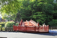 栃木県 日光二荒山神社の神橋
