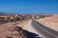 モロッコ カスバ街道の道