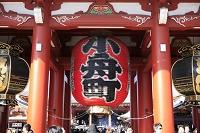 東京都 浅草寺 宝蔵門 提灯