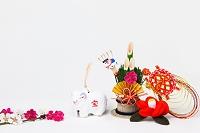 佐野土鈴未と正月飾り