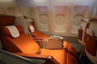 旅客機の座席