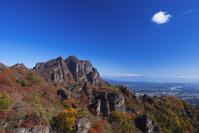 群馬県 妙義山 天狗の評定(岩)からの眺め