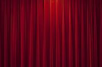 赤いカーテン