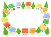 粘土の家の輪