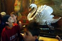 ドイツ ノイシュバンシュタイン城 白鳥像