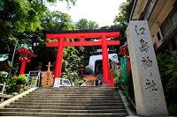 神奈川県 江の島 江島神社エスカーのりば