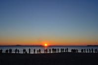 三浦海岸 初日の出