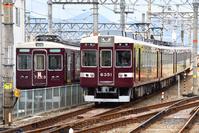 京都府 阪急電鉄 6300系普通電車