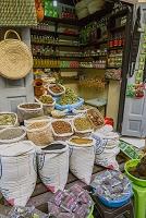 モロッコ フェズ メディナ(旧市街) 香辛料