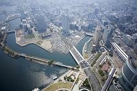 ランドマークタワーから横浜の景色