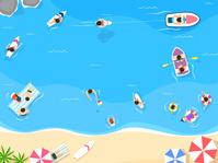 夏休み 海
