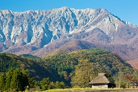 鳥取県 江府町より大山