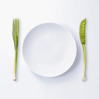白いプレート皿