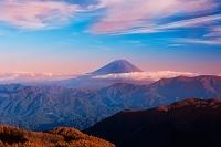 山梨県 櫛形山より富士山遠望