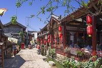 中国 雲南省 麗江 束河村