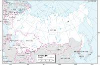 旧ソビエト 白地図