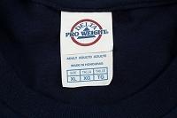 シャツの製品タグ