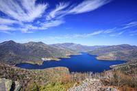 北海道 然別湖の紅葉