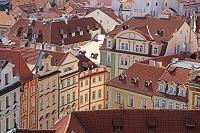 チェコ プラハ 旧市庁舎塔から望む家並み