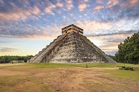 メキシコ チチェン・イッツァ ククルカンの神殿