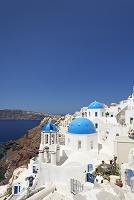 ギリシャ サントリーニ島 イアの町 教会