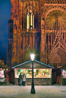 フランス アルザス ストラスブール クリスマスマーケット