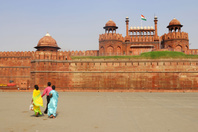 インド デリー 赤い城(ラール・キラー)
