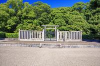 大阪府 新緑の安閑天皇陵古墳