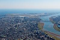 東京都 多摩川大師橋から羽田空港