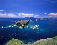 小富士から大瀬戸と鰹鳥島