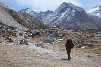 ネパール トゥクラ近郊