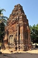 カンボジア アンコール遺跡 ロレイ