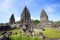 インドネシア プランバナン寺院遺跡群